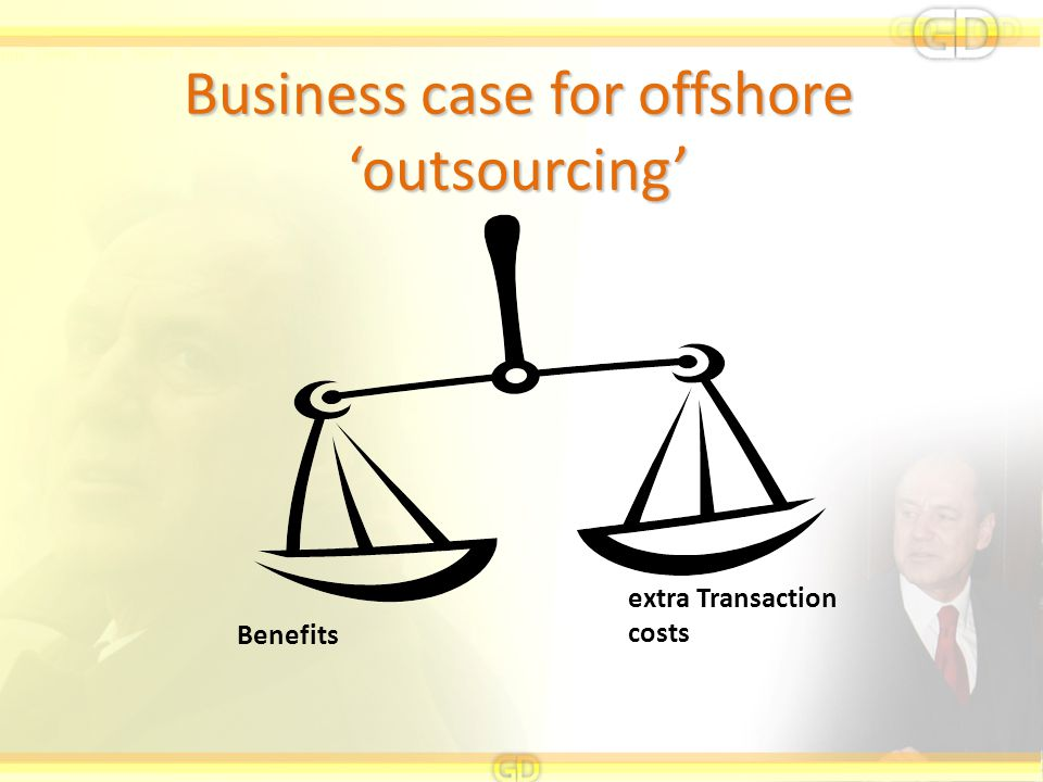 Business case for offshore 'outsourcing'