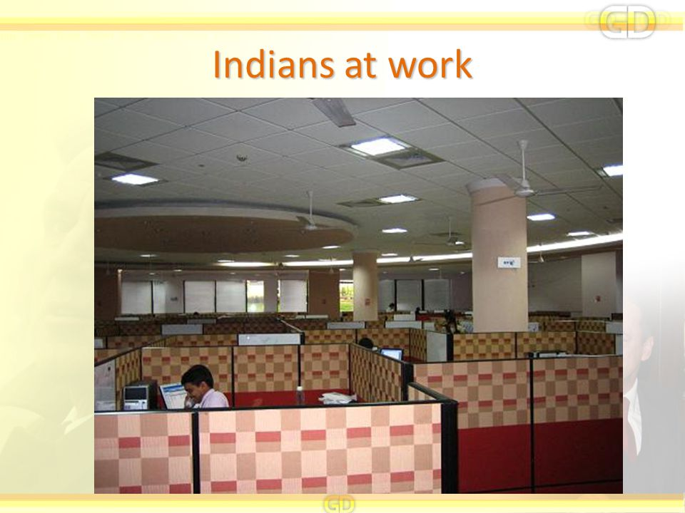 Indians at work