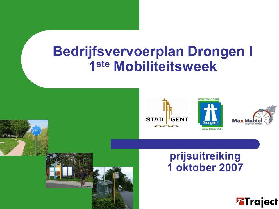 Bedrijfsvervoerplan Drongen I 1ste Mobiliteitsweek
