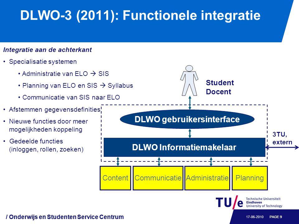 DLWO-3 bestuurlijk Instelling governance board (2010)
