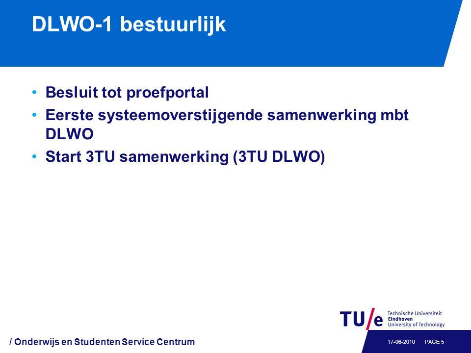 DLWO-2 (2009): Technische integratie