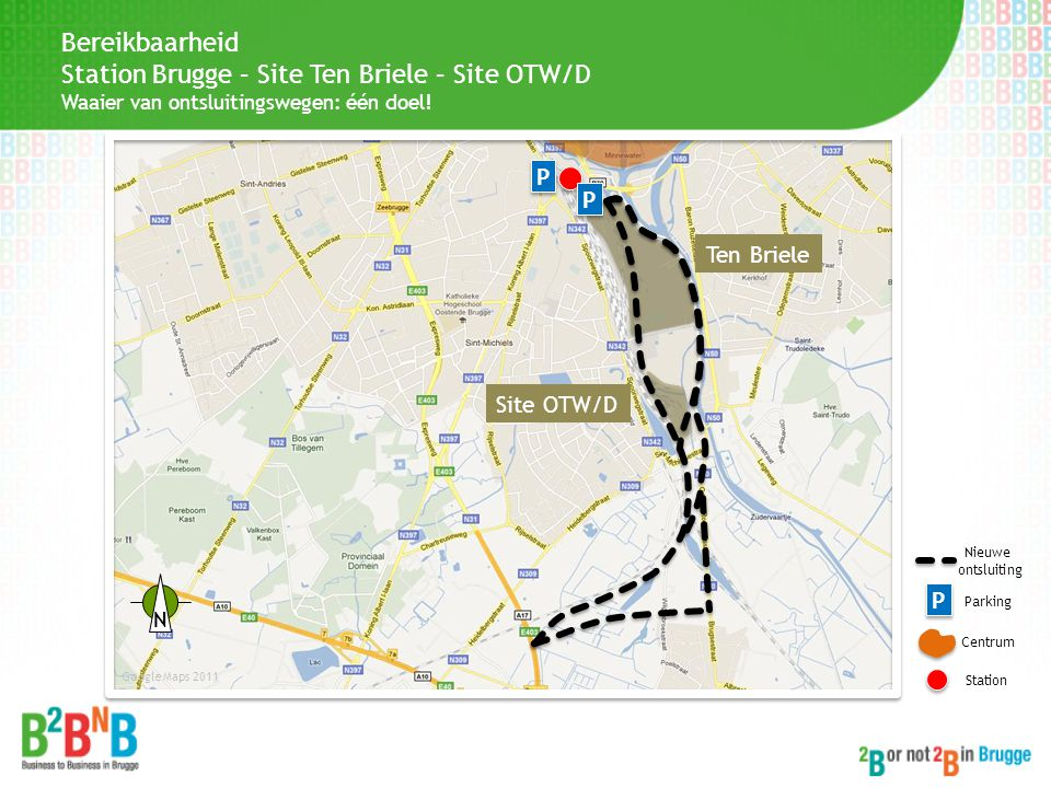 Station Brugge – Site Ten Briele – Site OTW/D