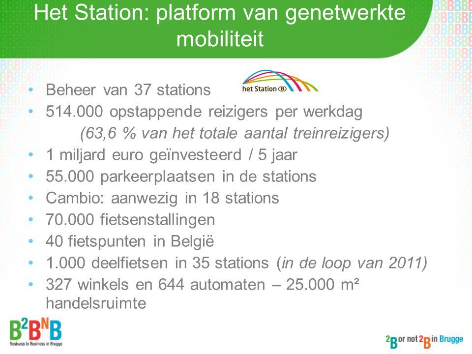 Het Station: platform van genetwerkte mobiliteit