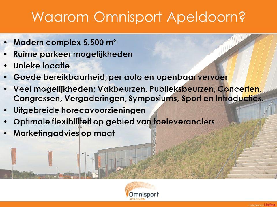 Waarom Omnisport Apeldoorn