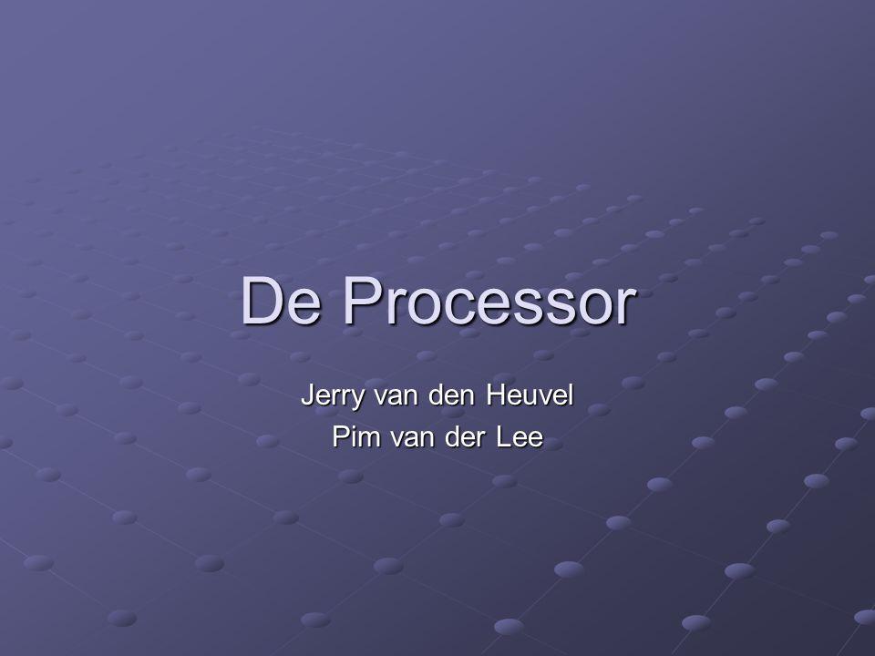 Jerry van den Heuvel Pim van der Lee