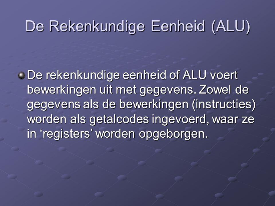 De Rekenkundige Eenheid (ALU)
