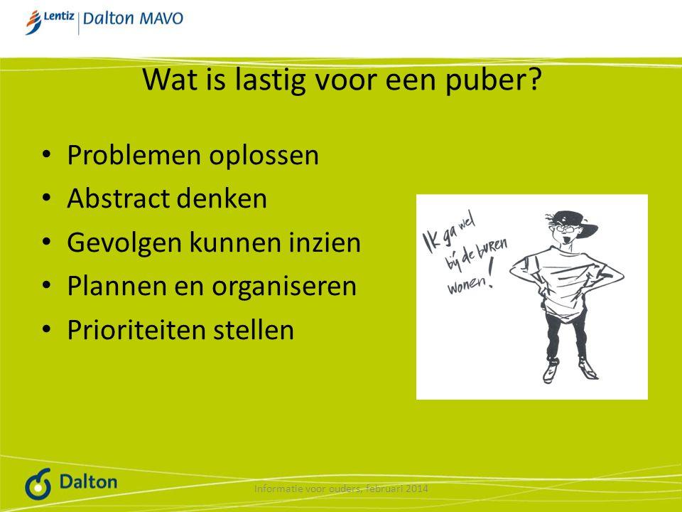 Wat is lastig voor een puber