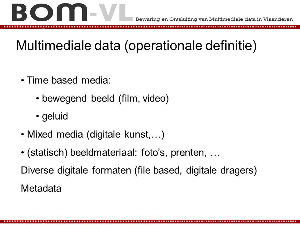 Multimediale data (operationale definitie)