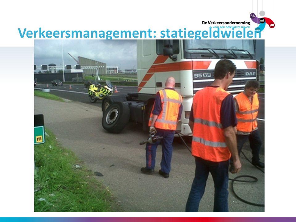 Verkeersmanagement: statiegeldwielen