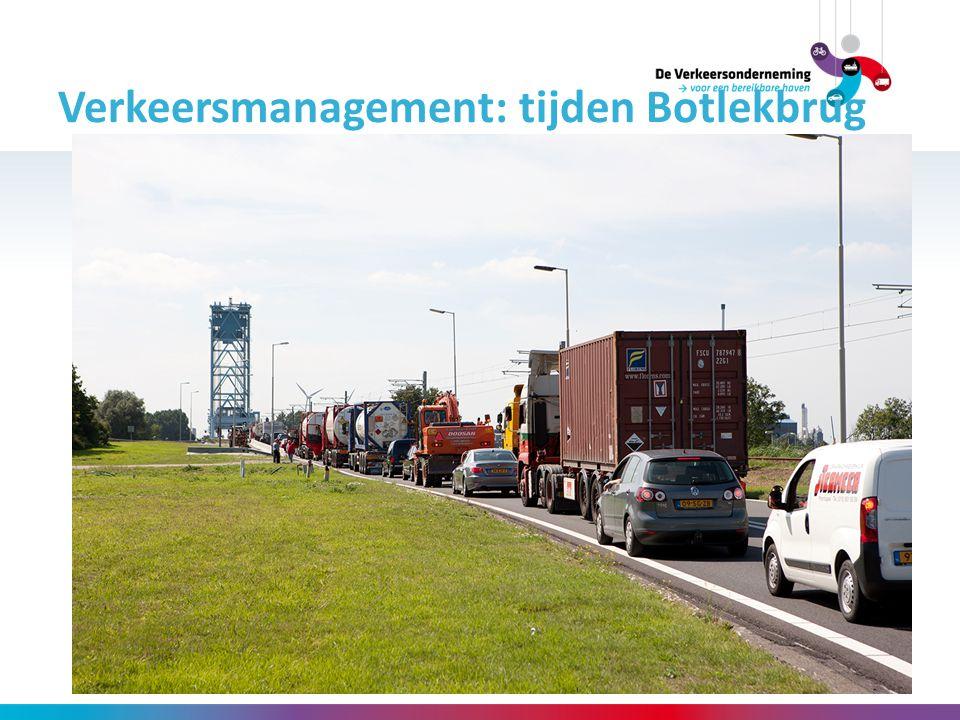 Verkeersmanagement: tijden Botlekbrug