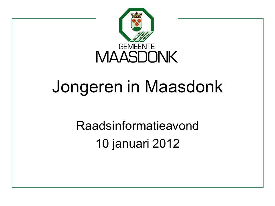 Raadsinformatieavond 10 januari 2012