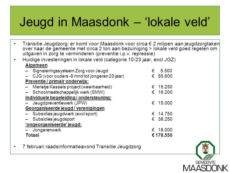 Jeugd in Maasdonk – 'lokale veld'