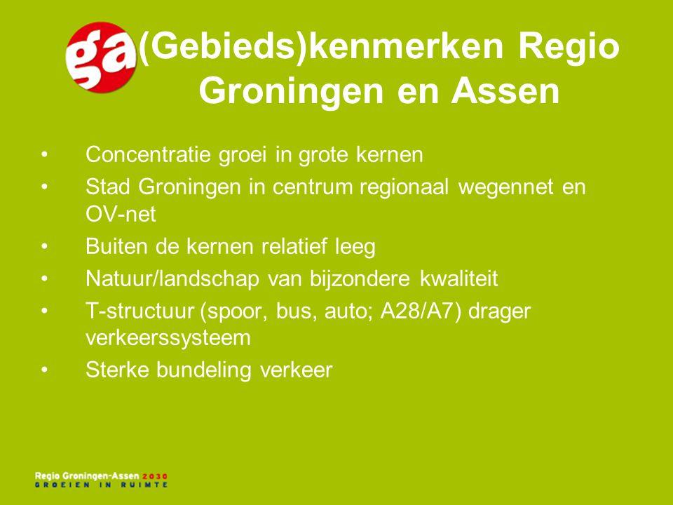 (Gebieds)kenmerken Regio Groningen en Assen