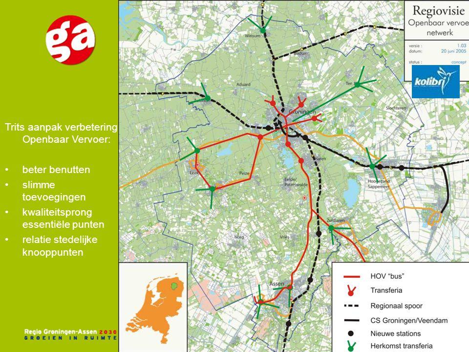 Trits aanpak verbetering Openbaar Vervoer: