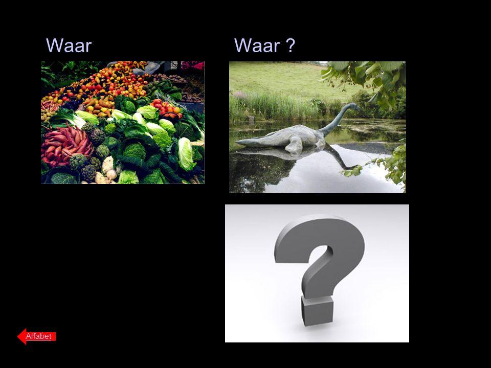 Waar Waar Alfabet