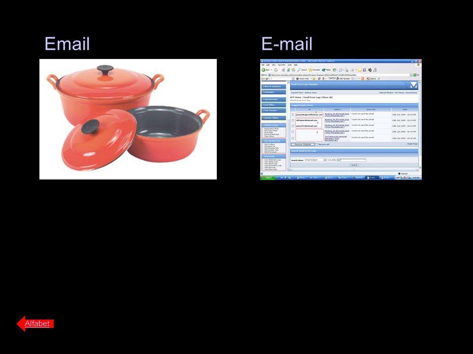 Email E-mail Alfabet