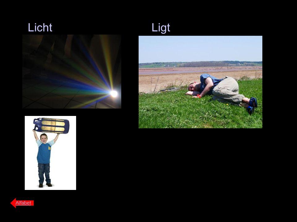 Licht Ligt Alfabet