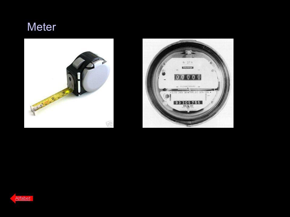 Meter Alfabet