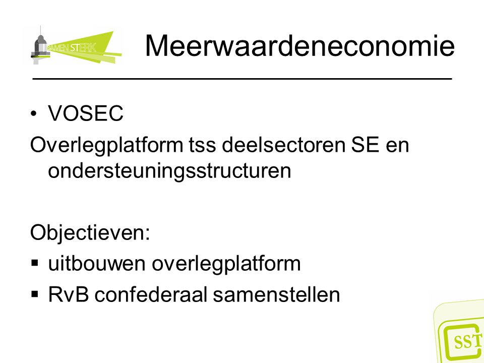 Meerwaardeneconomie VOSEC