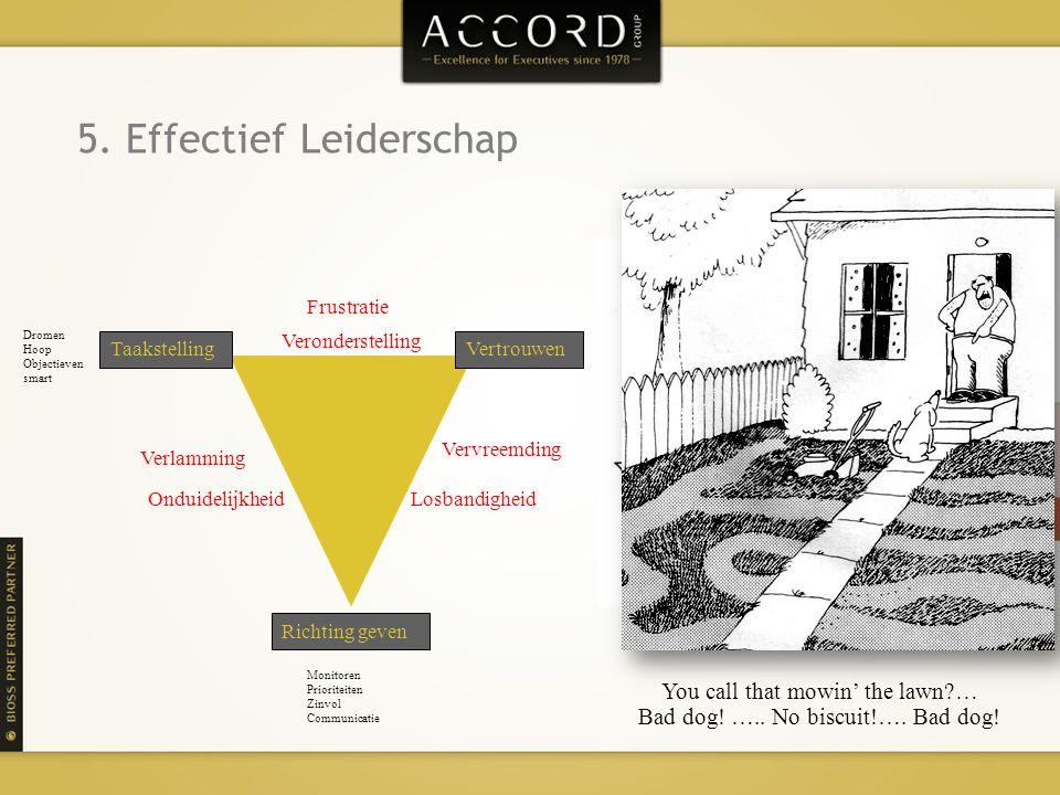 5. Effectief Leiderschap