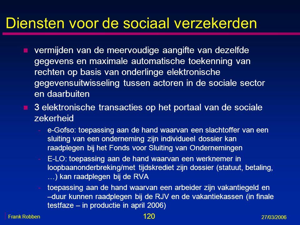 Diensten voor de sociaal verzekerden