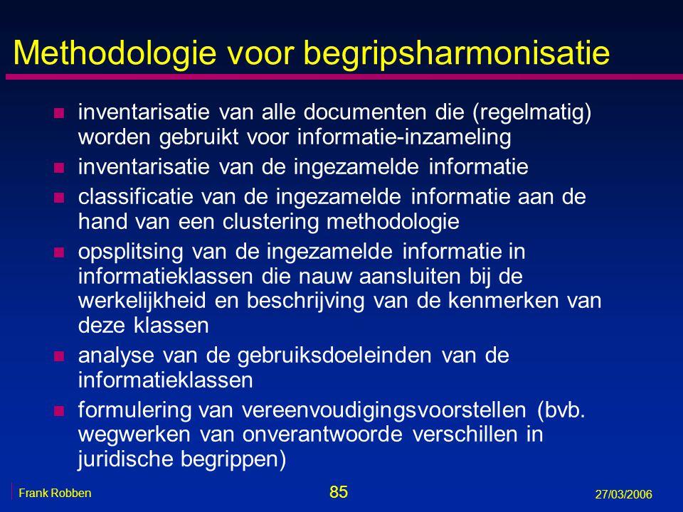 Methodologie voor begripsharmonisatie