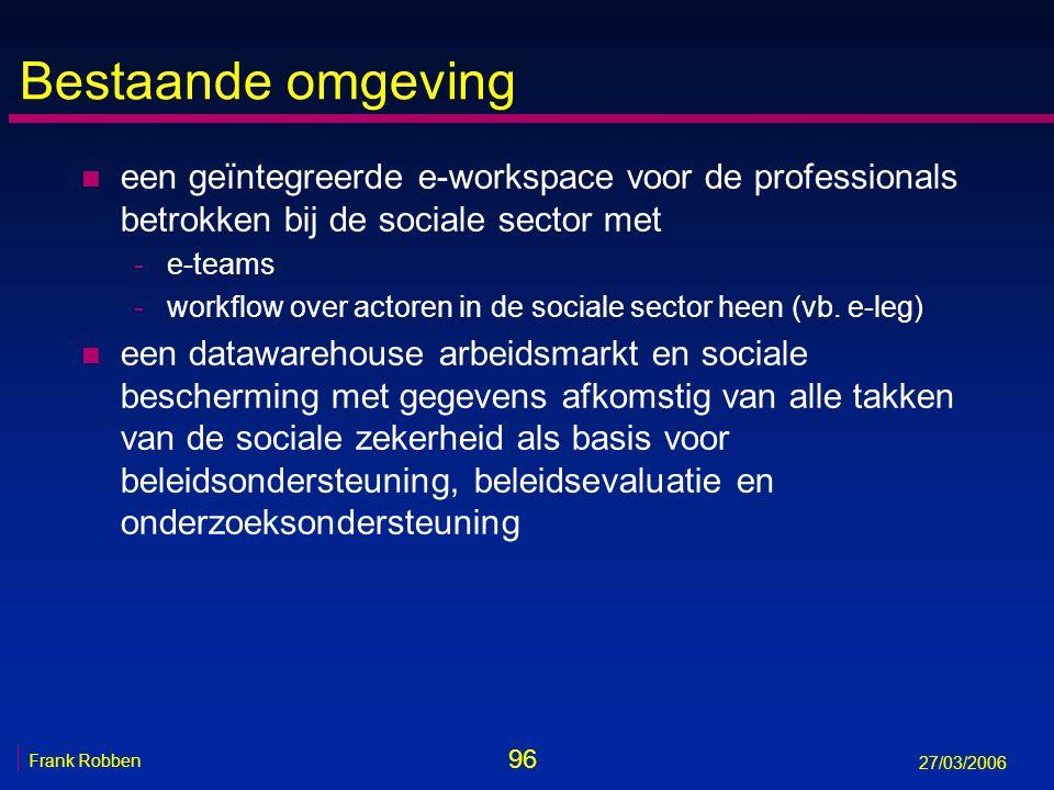 Bestaande omgeving een geïntegreerde e-workspace voor de professionals betrokken bij de sociale sector met.