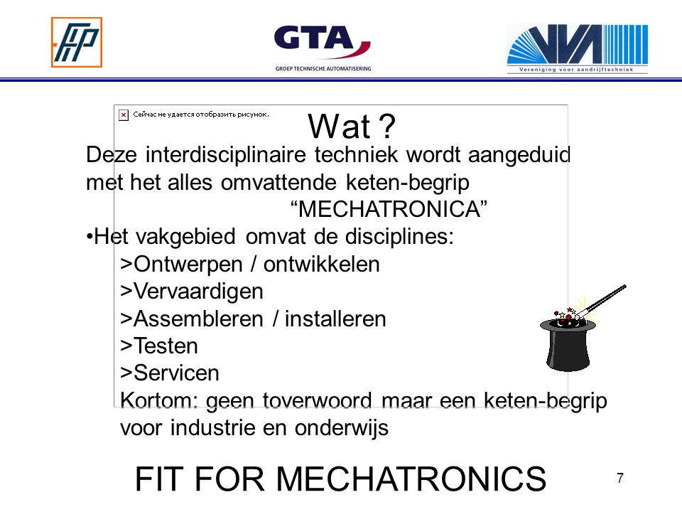 Wat FIT FOR MECHATRONICS