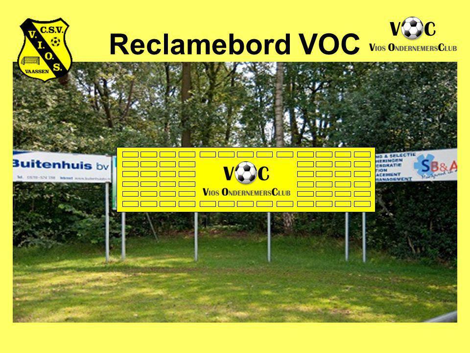 Reclamebord VOC