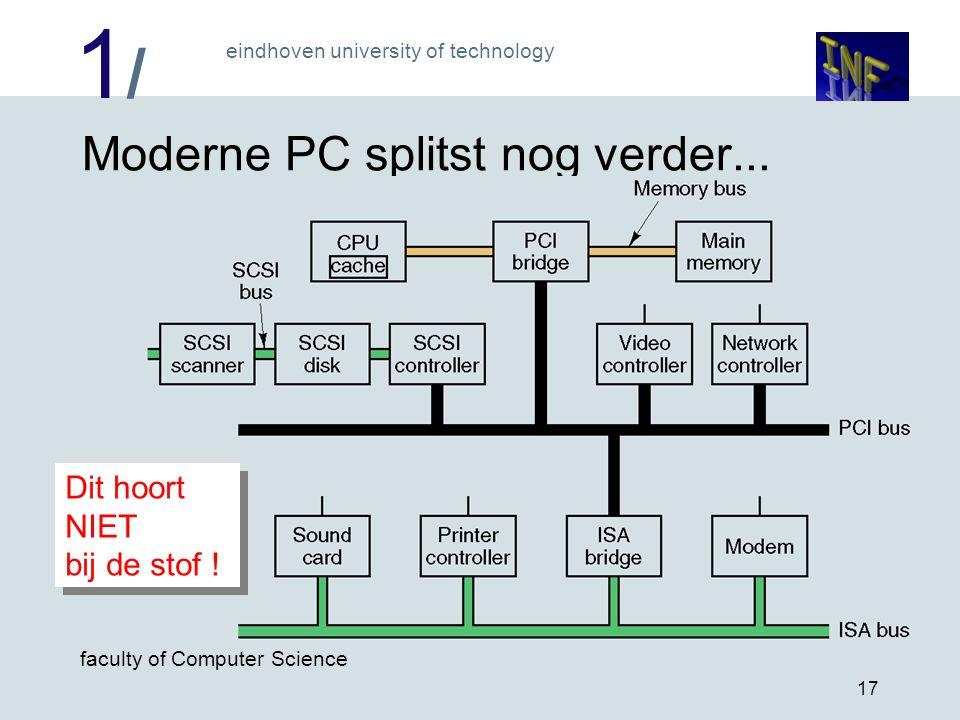 Moderne PC splitst nog verder...