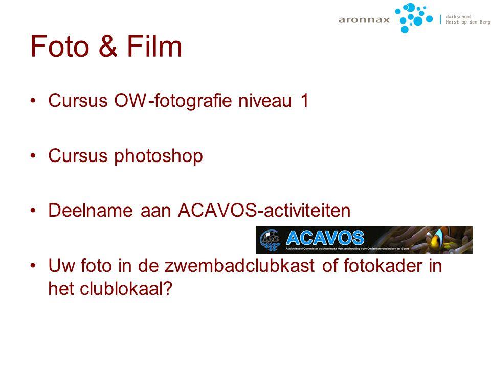 Foto & Film Cursus OW-fotografie niveau 1 Cursus photoshop