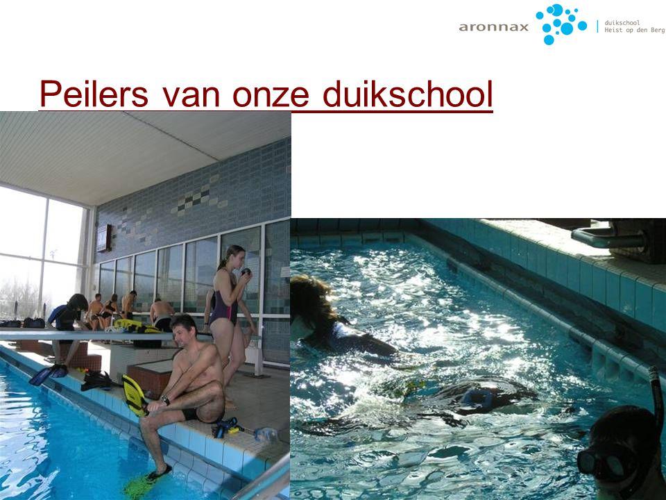 Peilers van onze duikschool