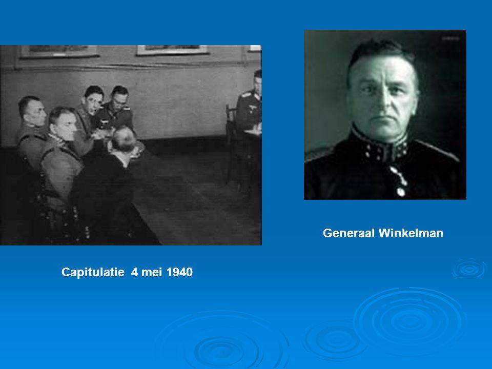 Generaal Winkelman Capitulatie 4 mei 1940