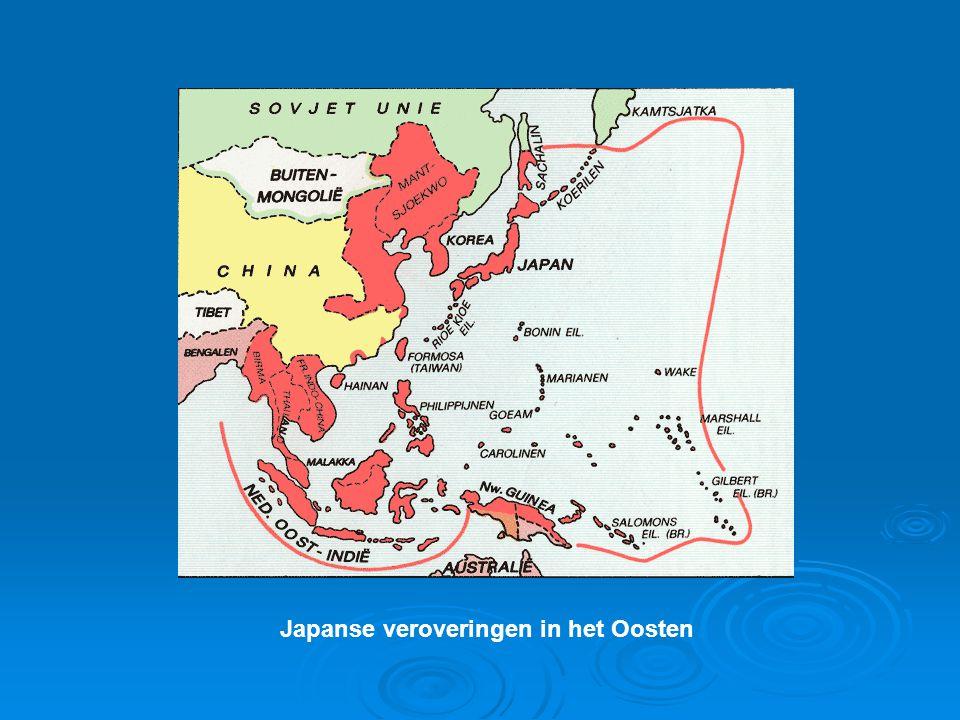 Japanse veroveringen in het Oosten
