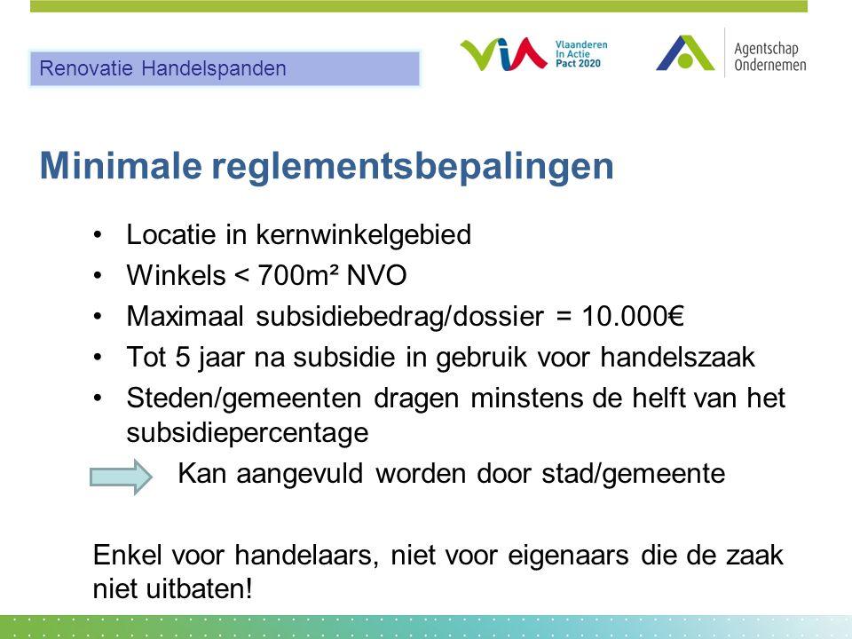 Minimale reglementsbepalingen