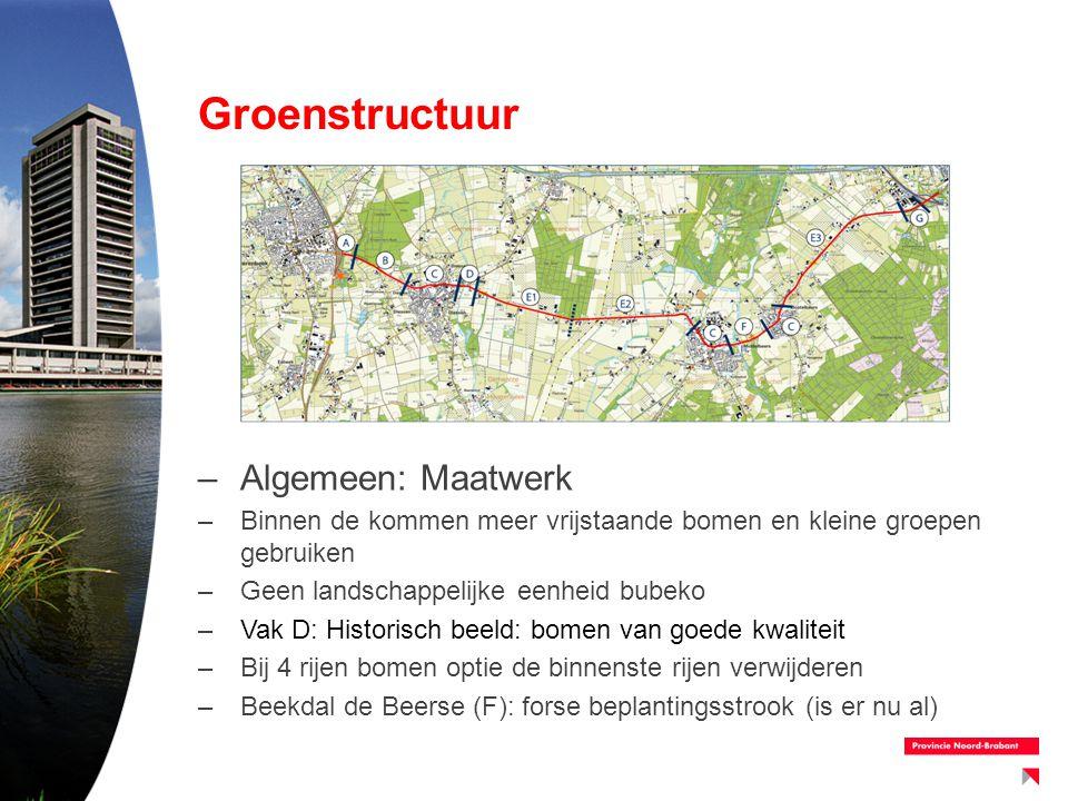 Groenstructuur Algemeen: Maatwerk