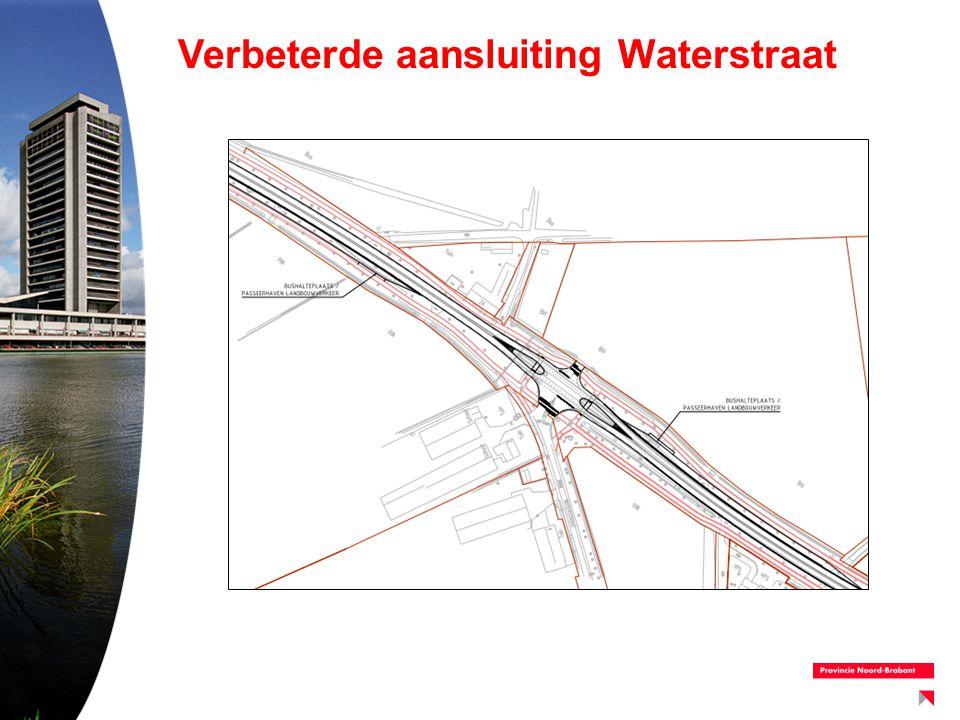Verbeterde aansluiting Waterstraat