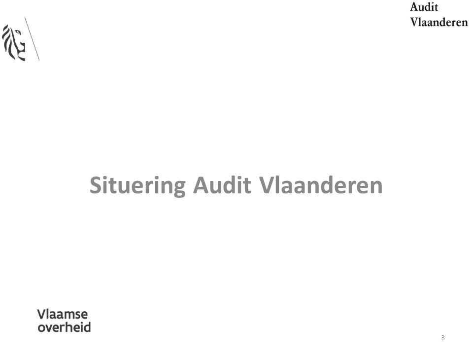 Situering Audit Vlaanderen