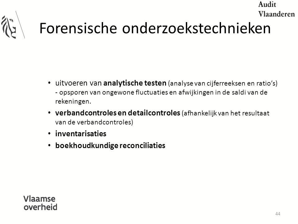 Forensische onderzoekstechnieken