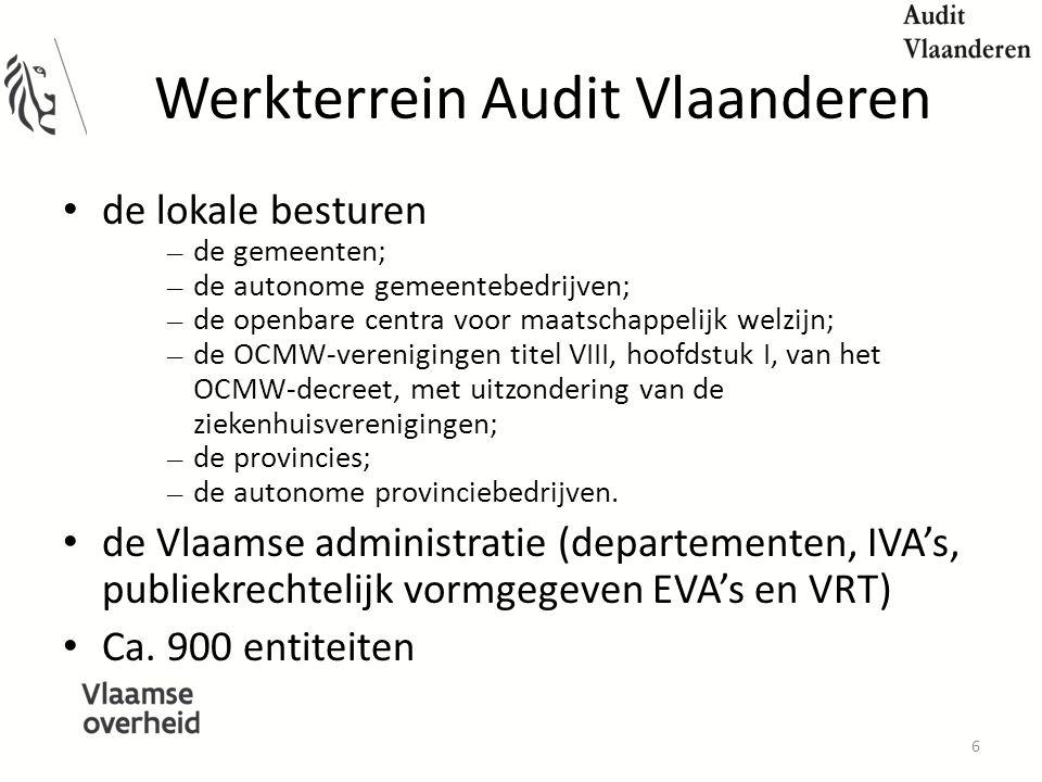 Werkterrein Audit Vlaanderen