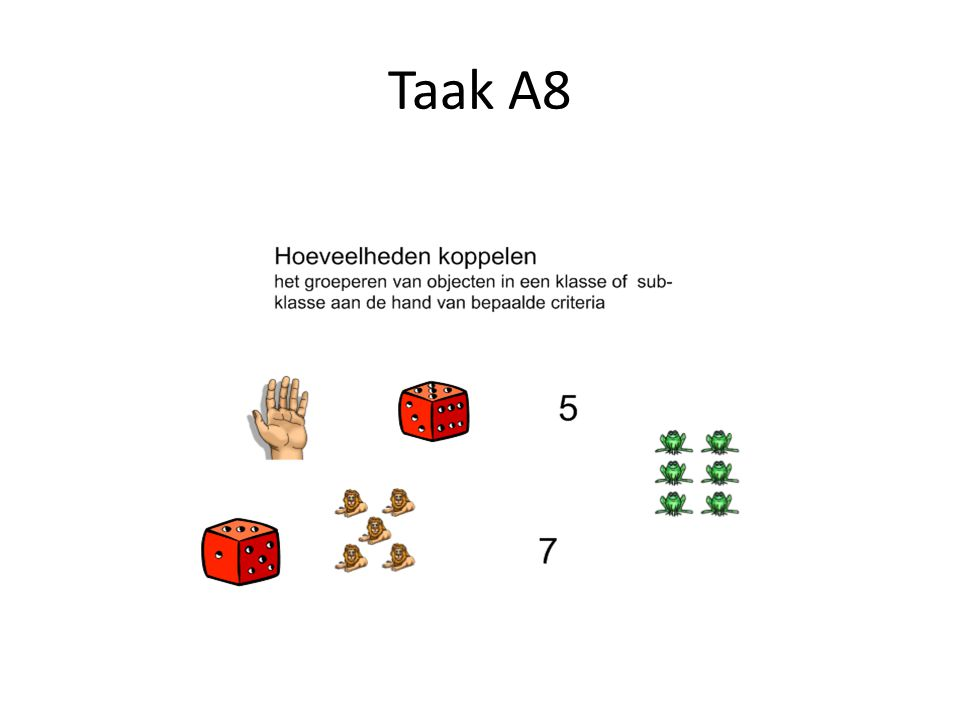 Taak A8