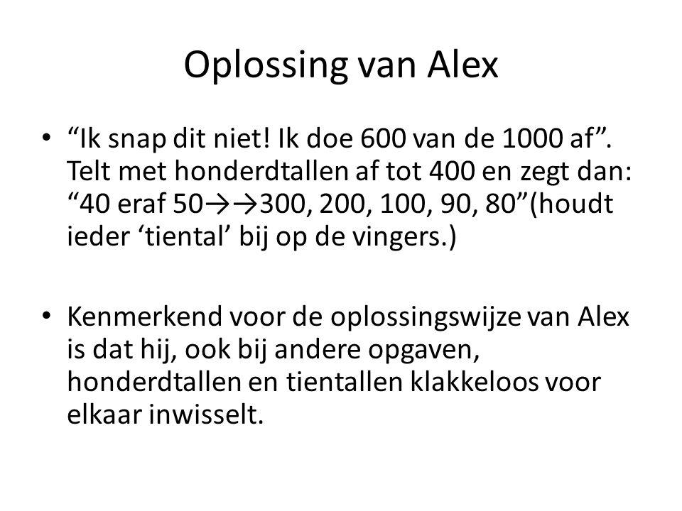 Oplossing van Alex