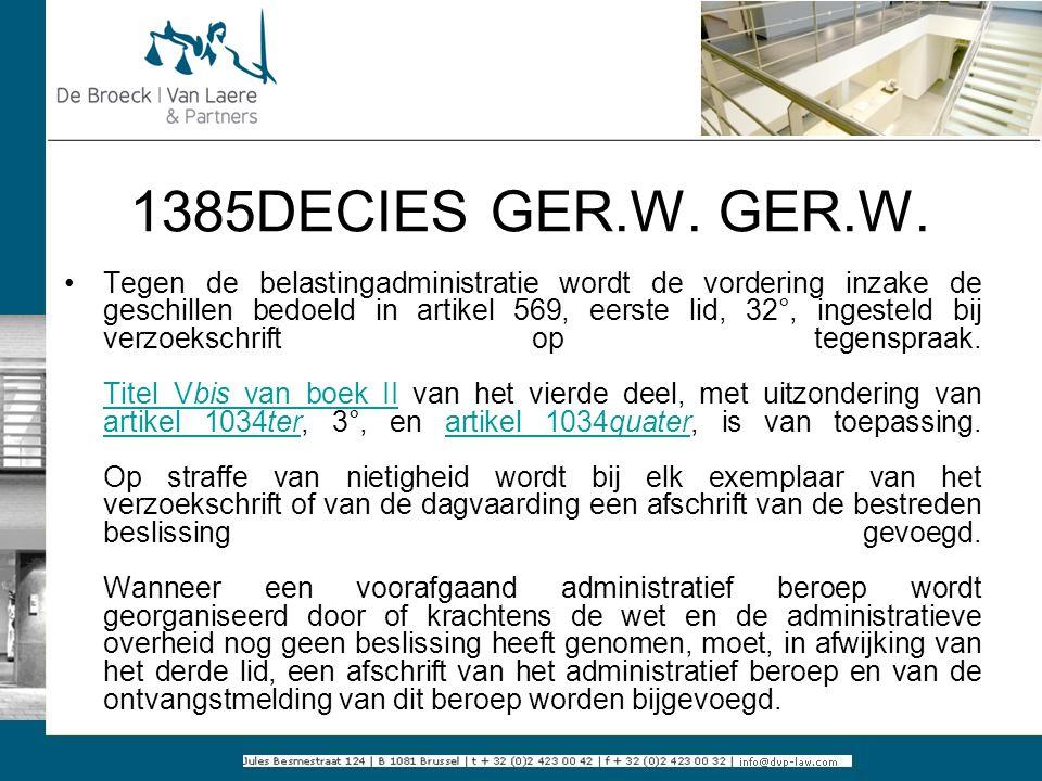 1385DECIES GER.W. GER.W.