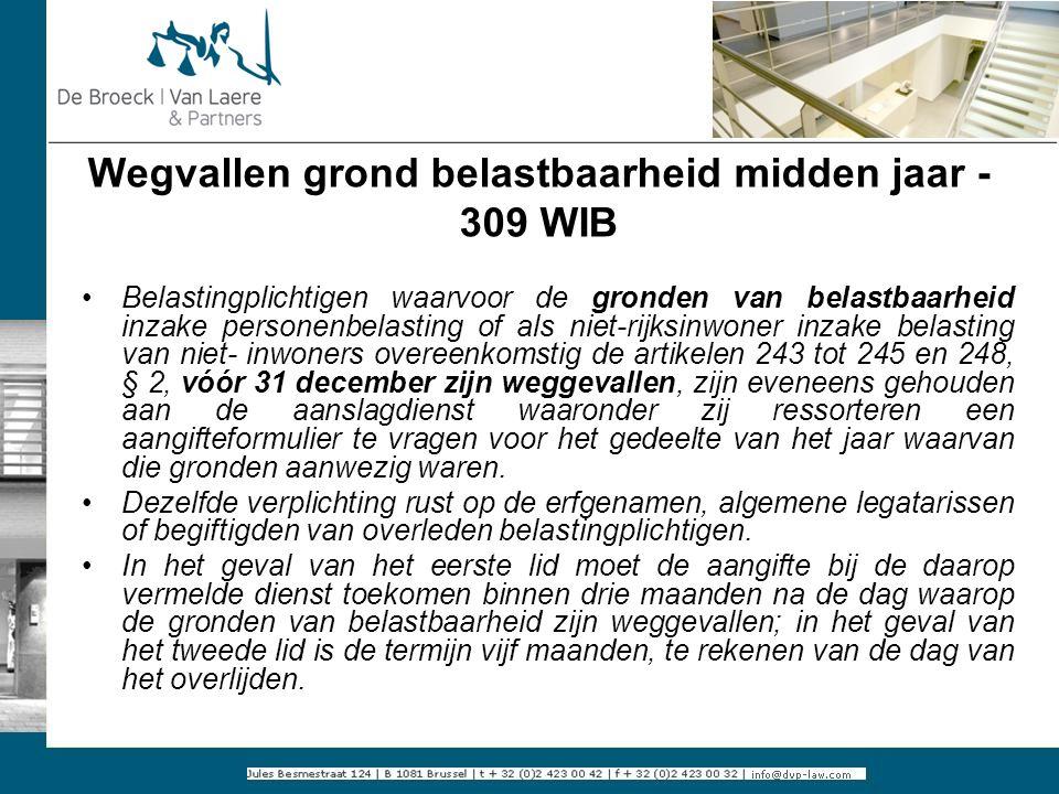 Wegvallen grond belastbaarheid midden jaar - 309 WIB