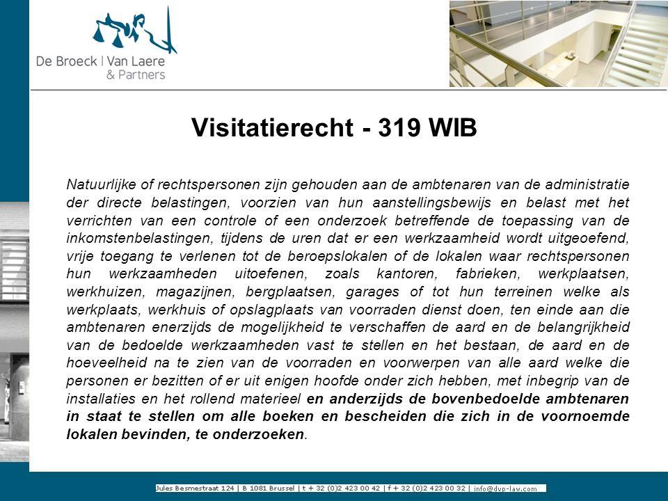 Visitatierecht - 319 WIB