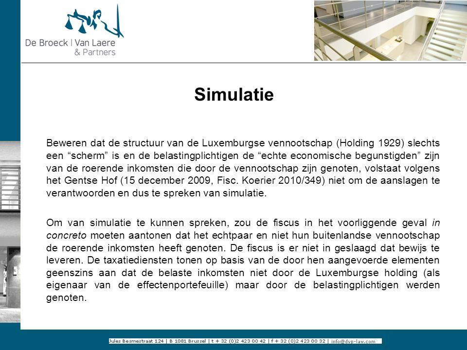 Simulatie