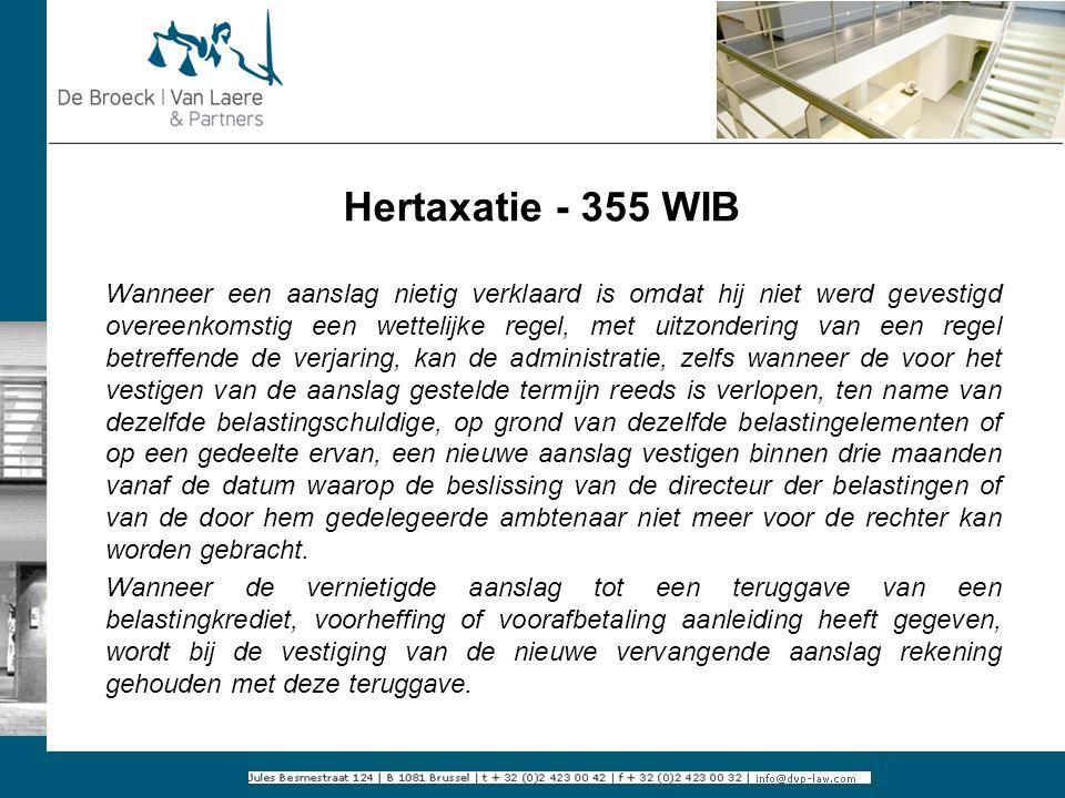 Hertaxatie - 355 WIB