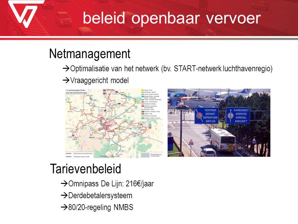 beleid openbaar vervoer