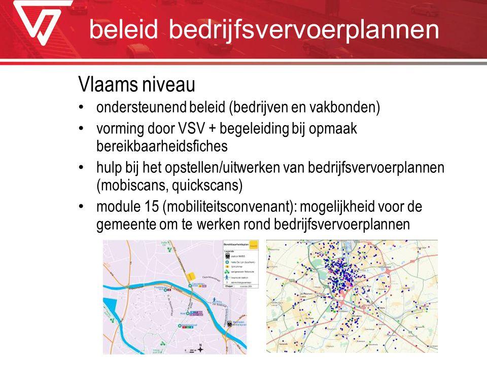 beleid bedrijfsvervoerplannen