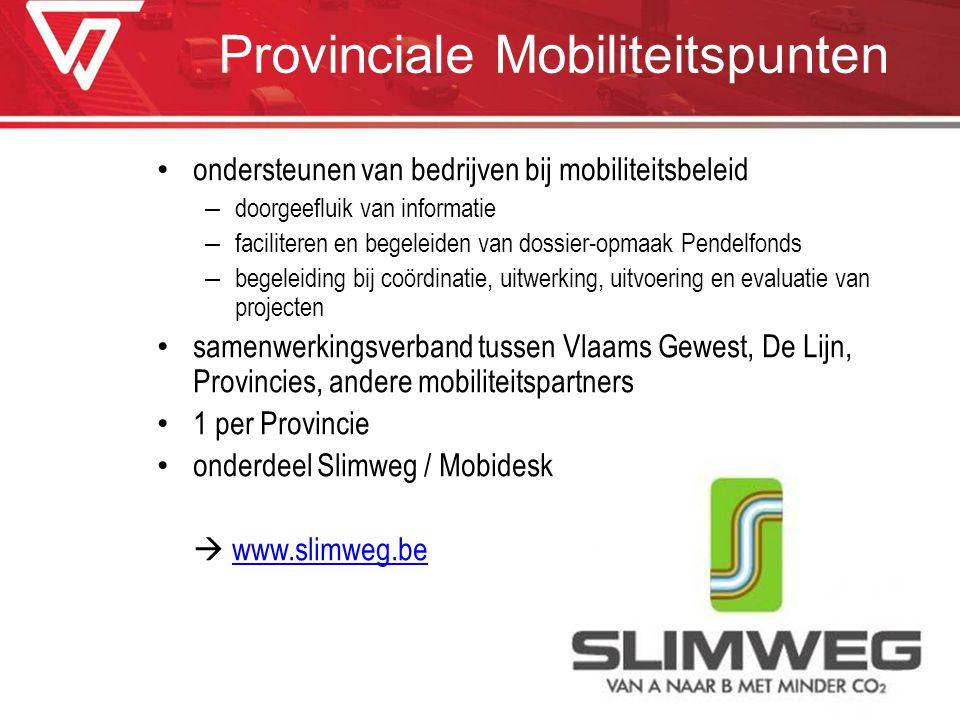 Provinciale Mobiliteitspunten